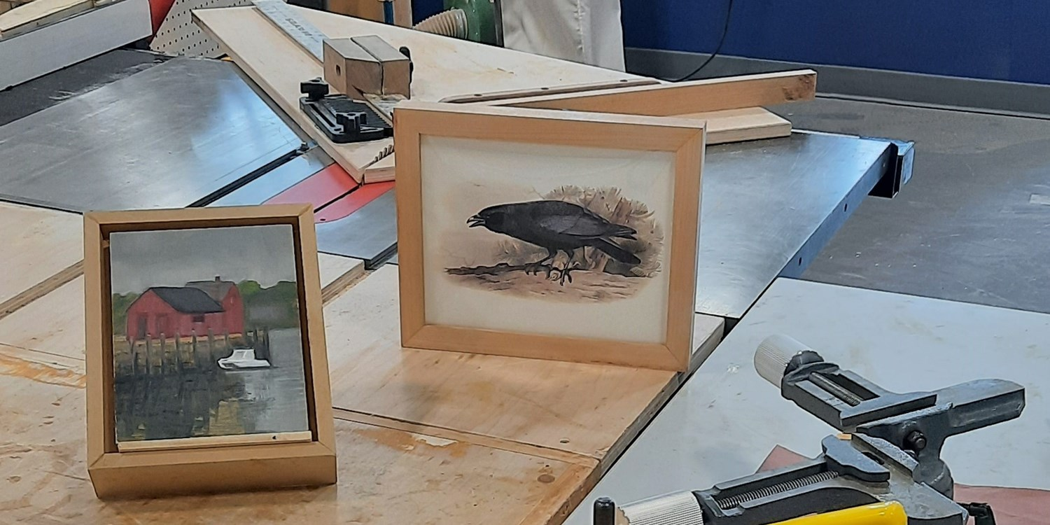 Wooden Picture Frame Workshop (Members Only)